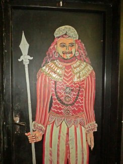 Murals on doors